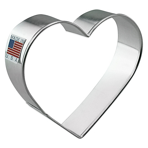 4 Inch Heart Cookie Cutter