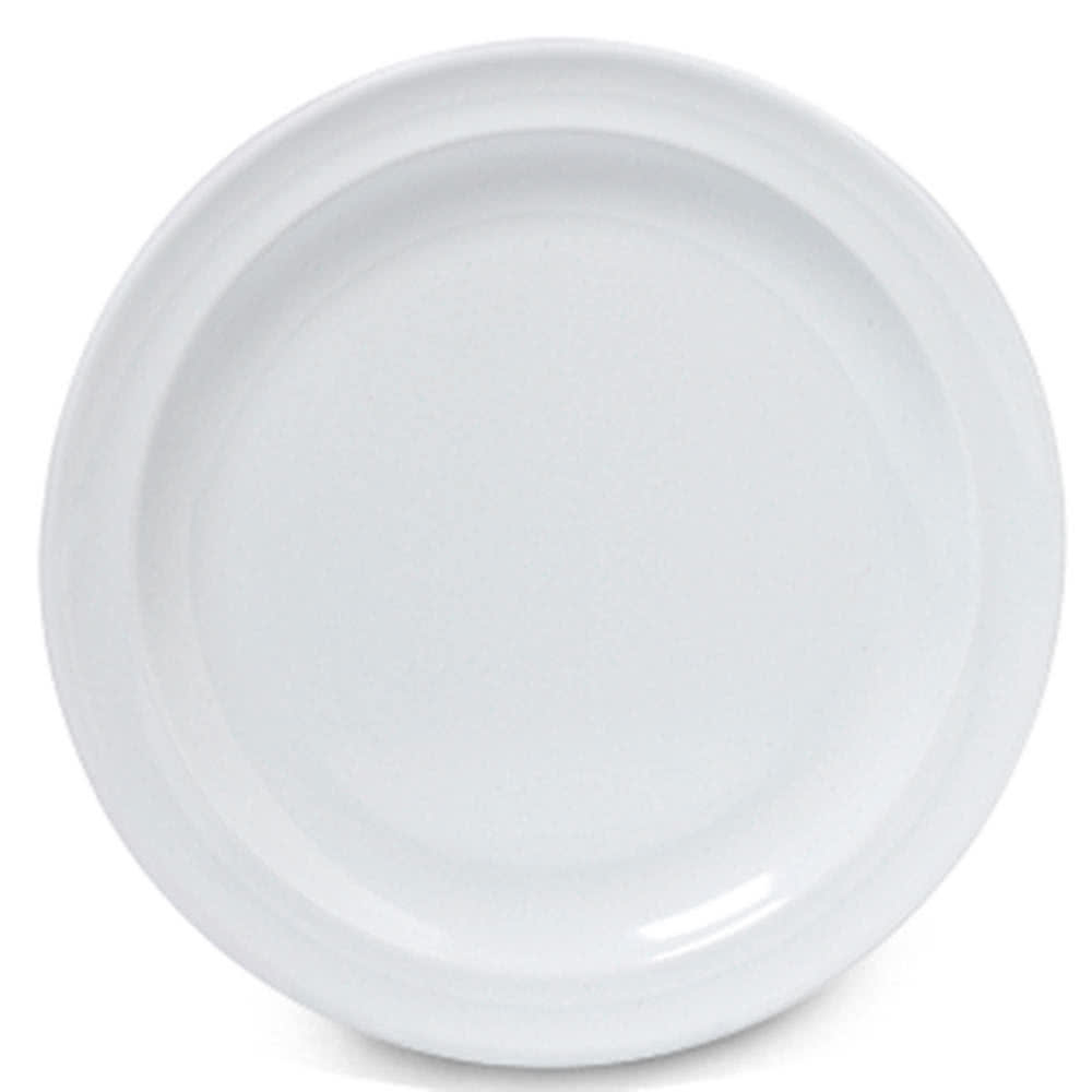9 Inch White Break Resistant Plate Rush S Kitchen