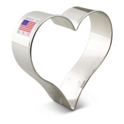 2 INCH HEART COOKIE CUTTER
