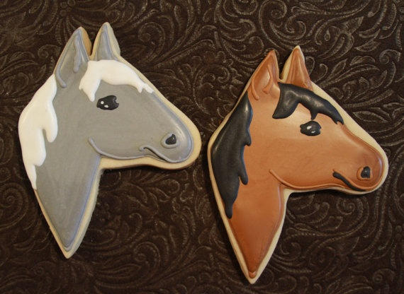 Horse Cookie//Icing Cutter