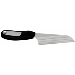 BLACK HANDLE CHEESE KNIFE