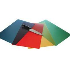 12X18 INCH COLORED FLEXIBLE CUTTING BOARDS 4 PACK
