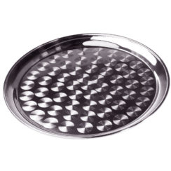 16 INCH STAINLESS STEEL OVAL TRAY