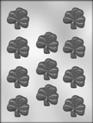 2 INCH SHAMROCK CANDY MOLD