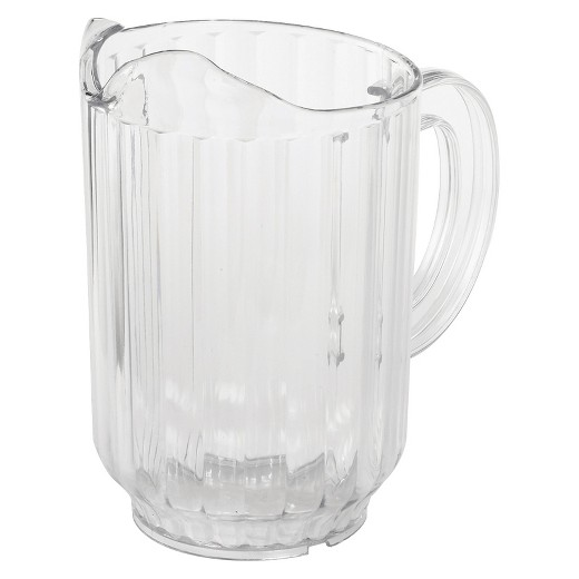 CLEAR POLY 60 OZ PITCHER