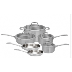 ZWILLING Spirit 10 Piece Stainless Steel Set