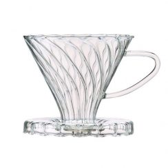 POUR OVER GLASS FILTER CONE