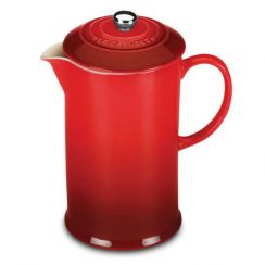 LE CREUSET 27 OZ CHERRY FRENCH PRESS