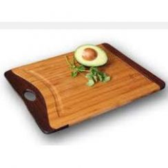 ISLAND BAMBOO 11X9 INCH RAINBOW SERIES II CUTTING BOARD