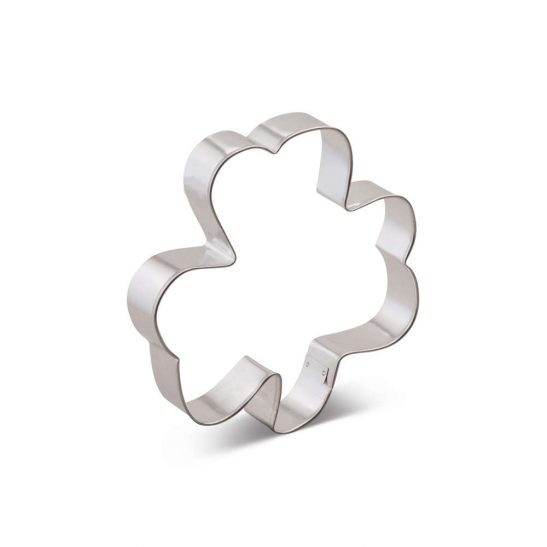 5 1/2 INCH SHAMROCK COOKIE CUTTER