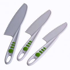 curious chef junior 3 piece knife set