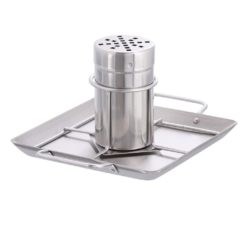 BEER CAN CHICKEN ROASTER WITH DRIP PAN