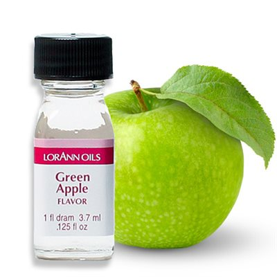 1 dram green apple lorann flavoring oil