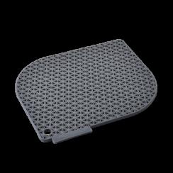 grey honeycomb pot holder