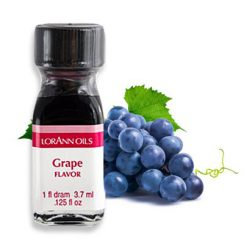 1 dram grape lorann flavoring oil