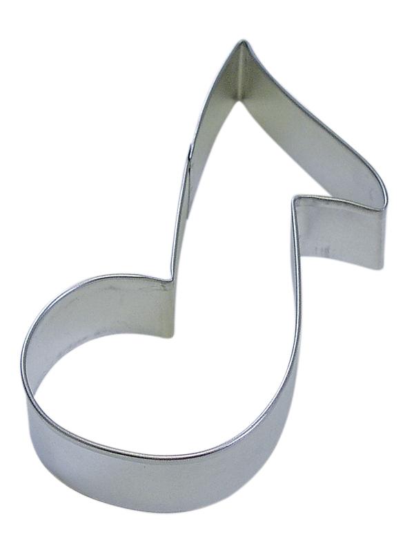 5 1/2 inch music note cookie cutter