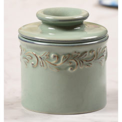 sea spray butter bell crock